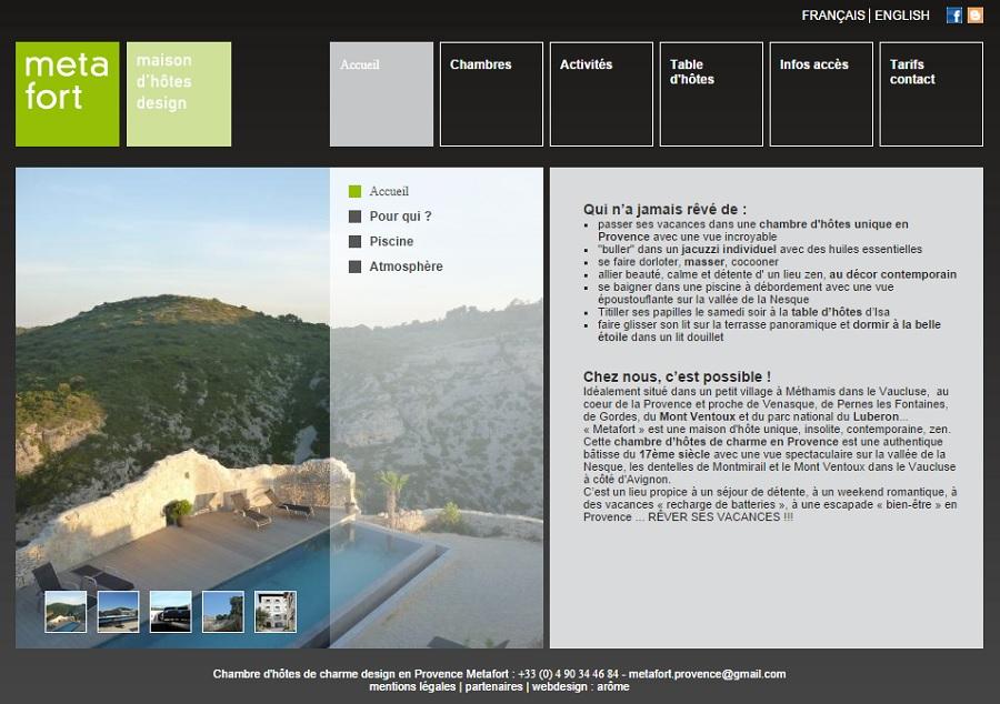 Metafort-Provence.com: chambres d'hôtes de charme en Provence