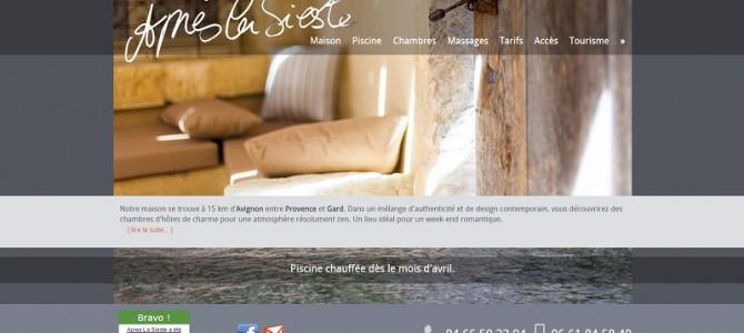 www.apreslasieste.fr: maison d'hôtes de charme dans le Gard
